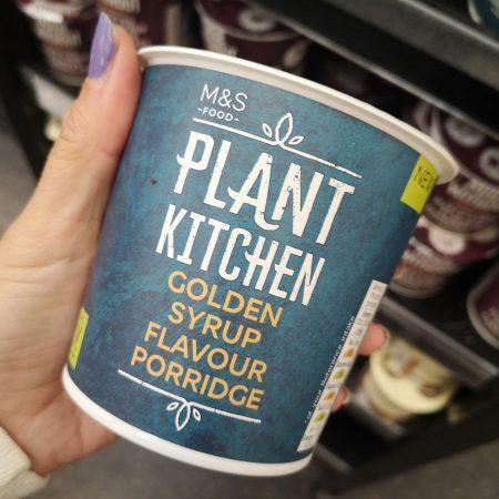 M&N Plant Kitchen Golden Syrup Flavour Porridge