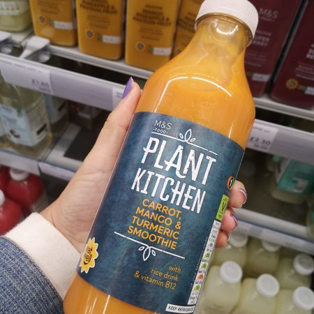 M&S Plant Kitchen Carrot, Mango and Turmeric Smoothie