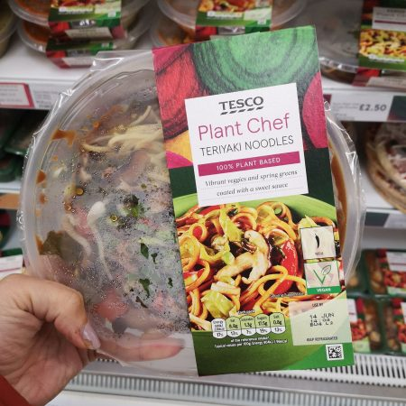Tesco Plant Chef Teriyaki Noodles 375G