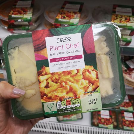 Tesco Plant Chef Butternut Cauliflower Mac 450G
