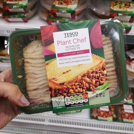 Tesco Plant Chef Mushroom Cottage Pie 450G