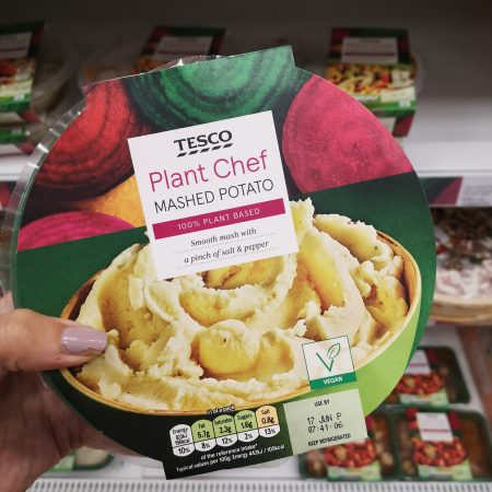 Tesco Plant Chef Mashed Potato 400G