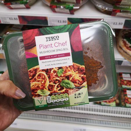 Tesco Plant Chef Mushroom Stroganoff 400G