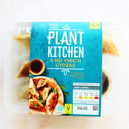 Plant Kitchen No Chic'n Gyozas