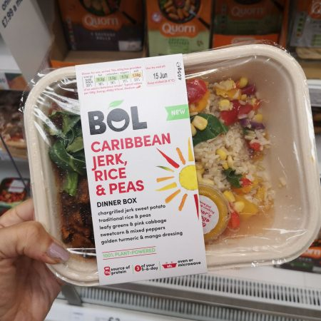 Bol Caribbean Jerk Dinner Box 405G