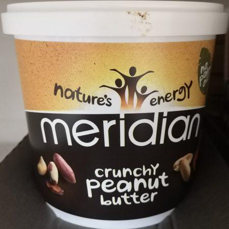 Meridian Crunchy Peanut Butter 1Kg