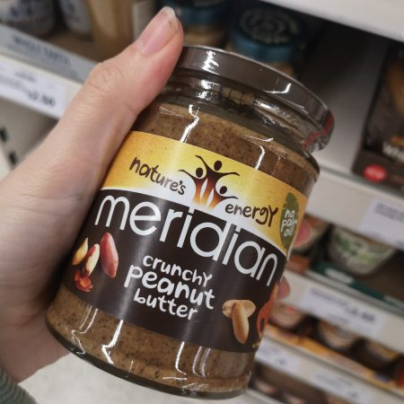 Meridian Crunchy Peanut Butter280g