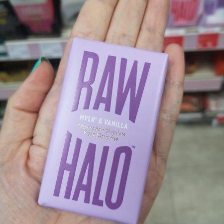Raw Halo Vegan Mylk & Vanilla Raw Chocolate 22g