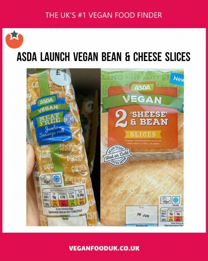Asda Add Sheese & Bean Slice To Their Grab & Go Range