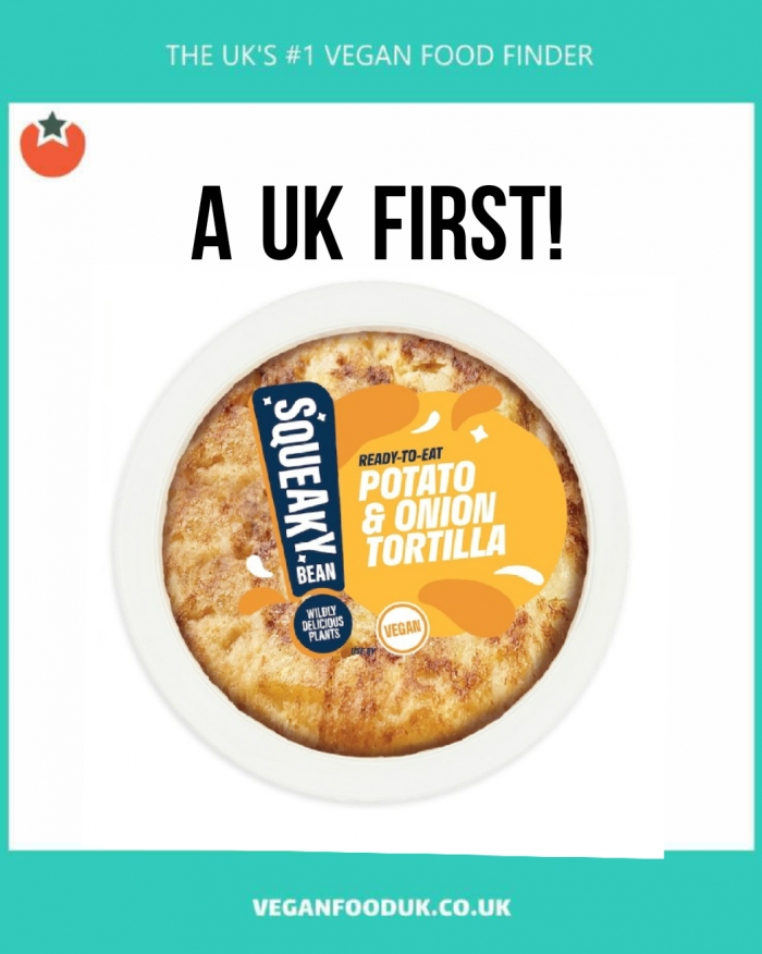 The UK's First Mainstream Vegan Tortilla Launches at Supermarkets