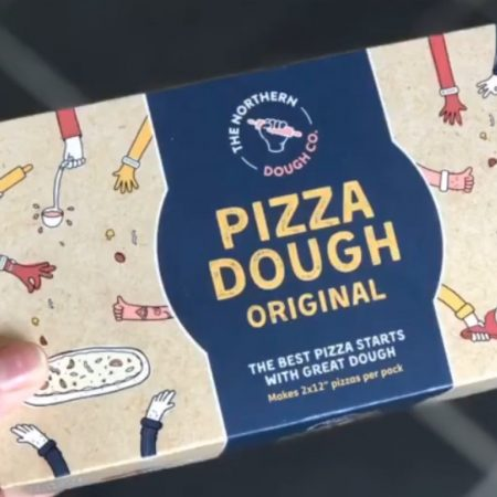 The Northern Dough Co. Pizza Dough Original 2x220g