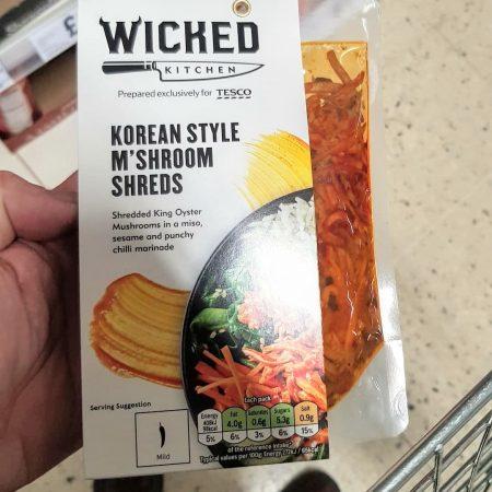 Wicked Kitchen Korean Style M'shroom Shreds