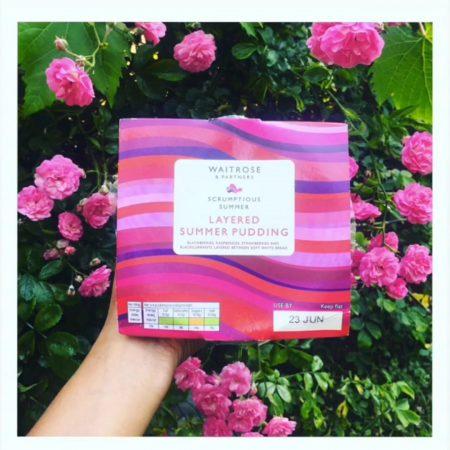 Waitrose Layered Summer Pudding 405g