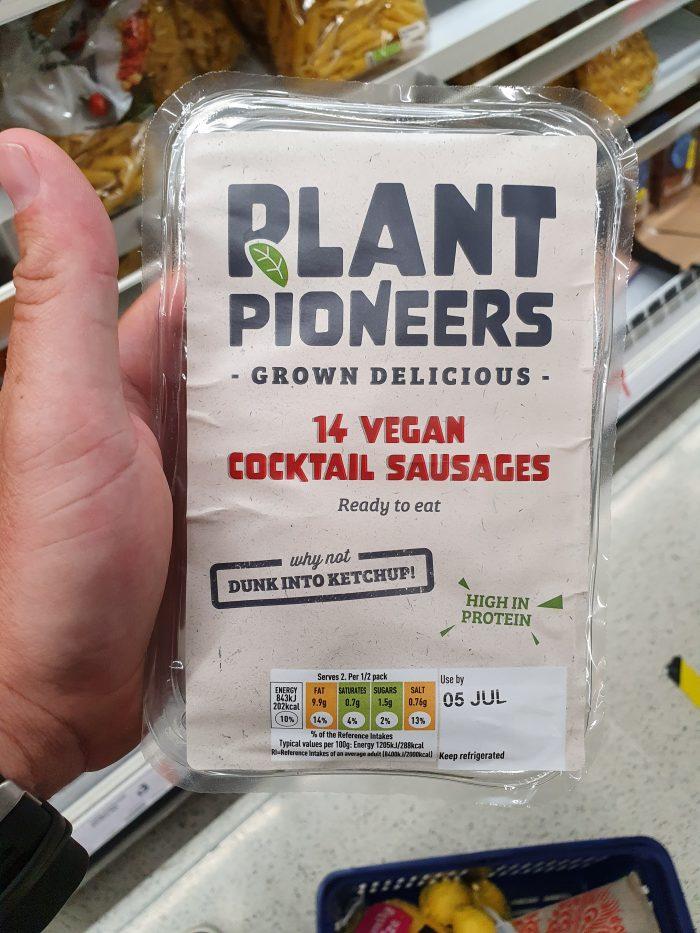 Plant Pioneers 14 Cocktail Vegan Sausages
