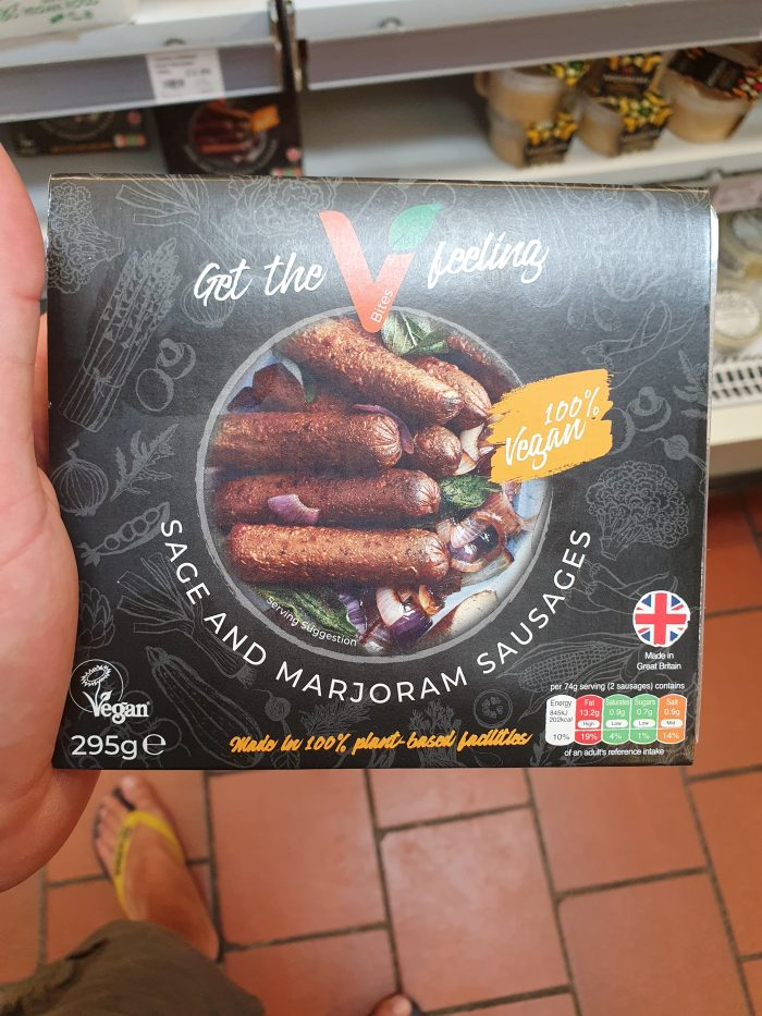 VBites Sage and Marjoram Sausages 295g