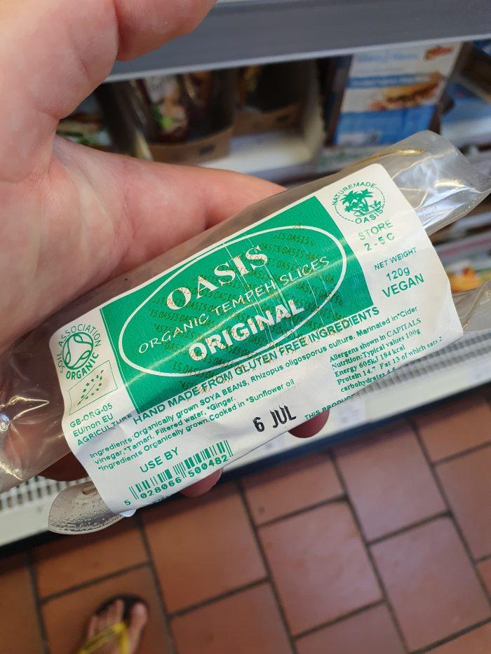 Oasis Organic Tempeh Original 120g