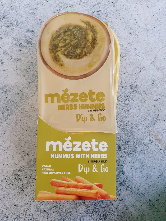 Mezete – Herb Hummus Dip & Go Pack 92g