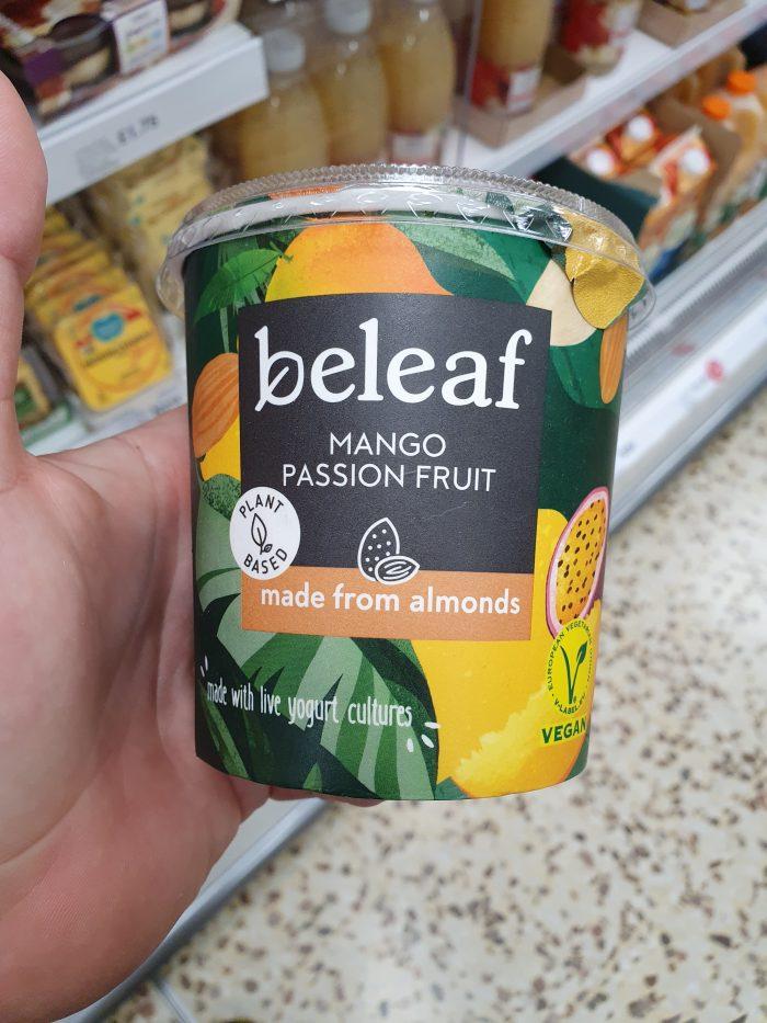 Beleaf Almond Yogurt Mango & Passion Fruit 350g