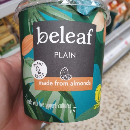 Beleaf Almond Yogurt Alternative Plain 350g