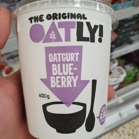 Oatly Blueberry Oatgurt 400g