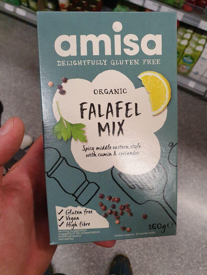 Amisa Organic Falafel Mix 160g