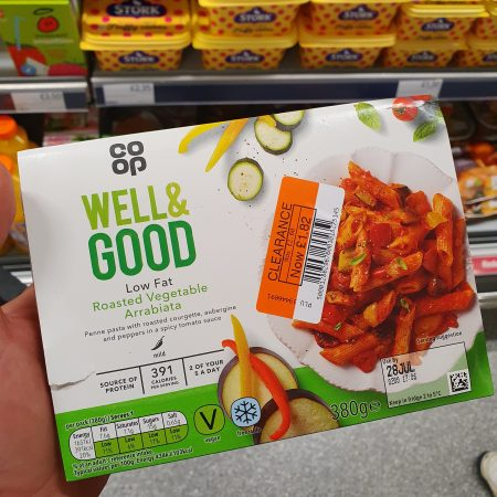 Co-op Low Fat Roasted Vegetable Arrabiata 380g
