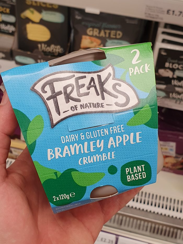 Freaks Of Nature Dairy Free Apple Crumble 2X120g