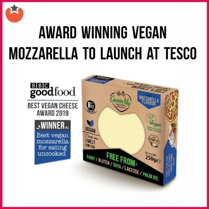 Award Winning Vegan Mozzarella To Launch at Tesco