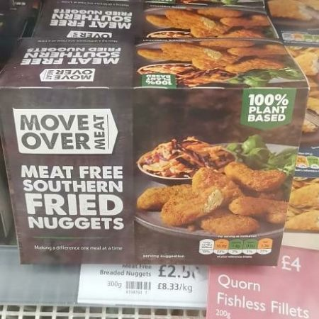 Move Over Meat Southern Fried Nuggets 300g