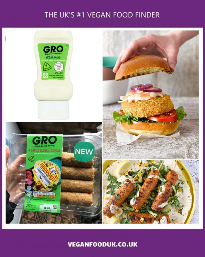 Co-op Expands Their Vegan Gro Range