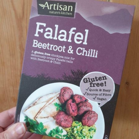 Artisan Beetroot & Chilli Falafel 150g