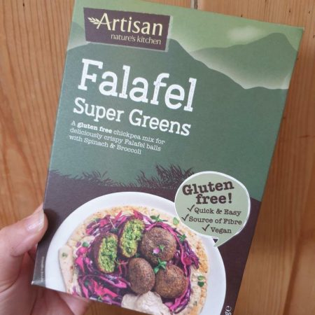 Artisan Falafel Super Greens 150g