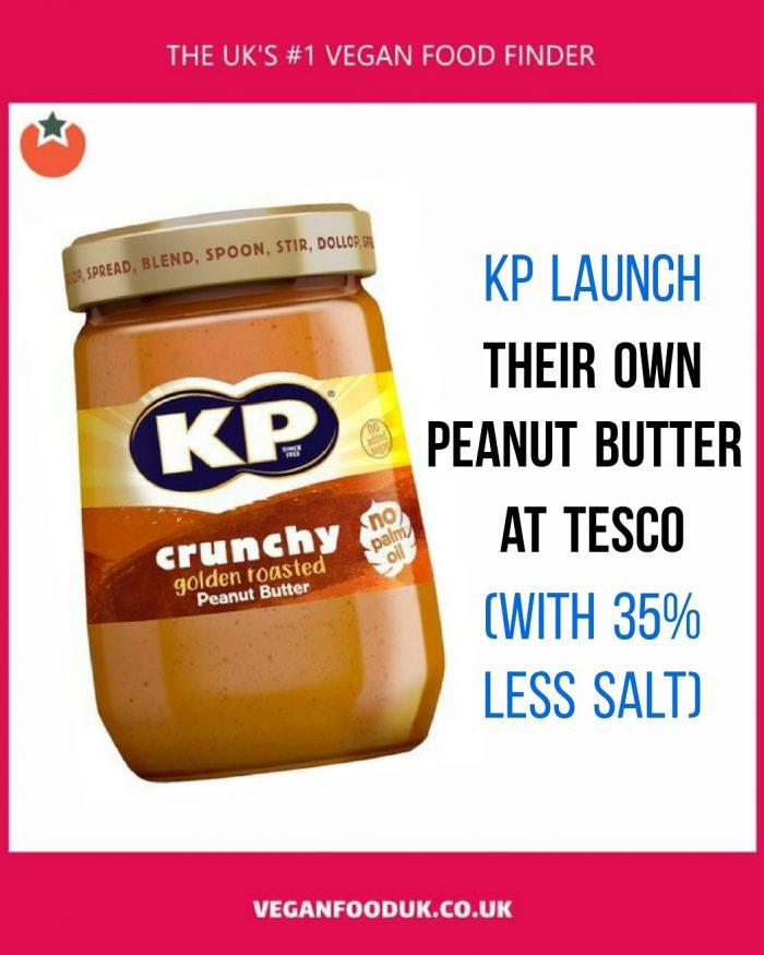 KP Launch Their Own Peanut Butter at Tesco