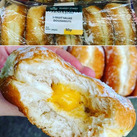 Morrisons Fruit Salad Doughnuts