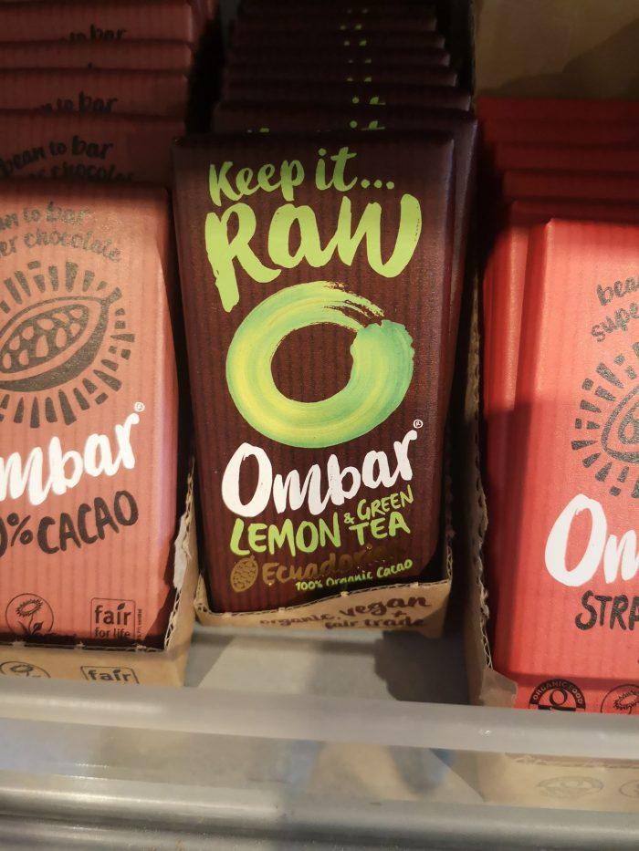 Ombar Lemon & Green Tea 35g