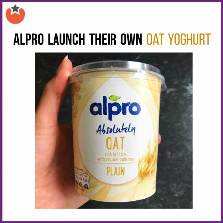 Alpro Launch Their Own Oat Yoghurt at Tesco