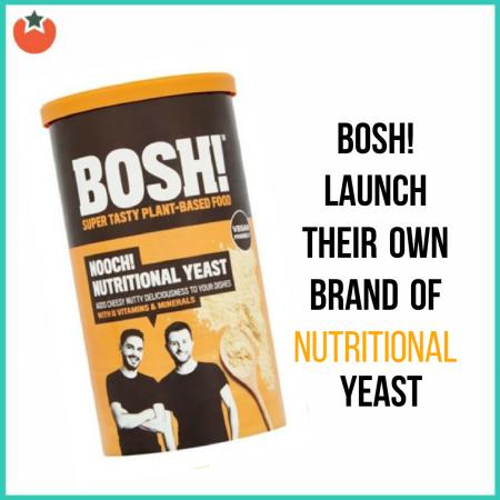 Bosh! Launch Nooch at UK Supermarkets