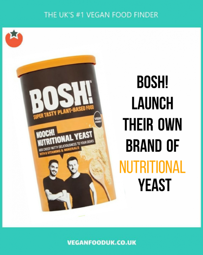 Bosh! Launch Nooch at UK Supermarkets