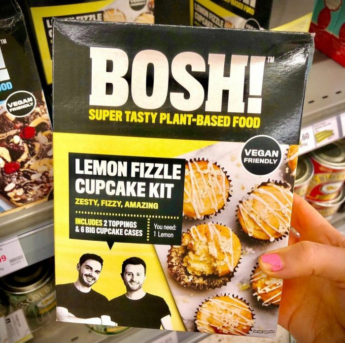 Bosh Lemon Fizzle Cupcake Kit 356g