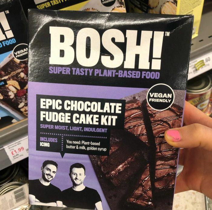 Bosh Epic Chocolate Fudge Cake Kit 635g