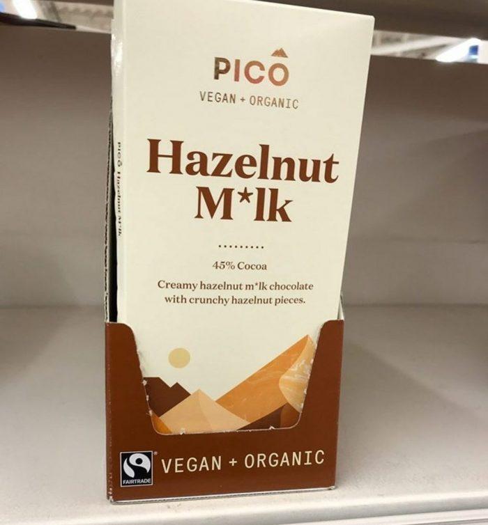 Pico Hazelnut M*lk Chocolate 80g