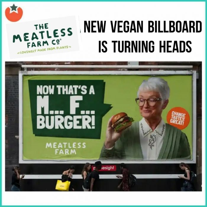New Vegan Billboard Is Turning Heads in the UK