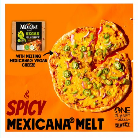 The UK's First Mexicana Vegan Pizza Launches Today