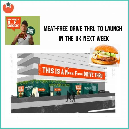 UK's First Meat Free Drive Thru To Launch Next Week