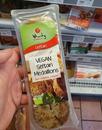 Wheaty Organic Vegan Seitan Medallions 175g
