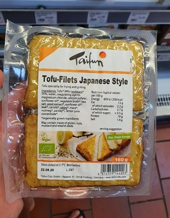 Taifun Tofu Filets Japanese Style 160g