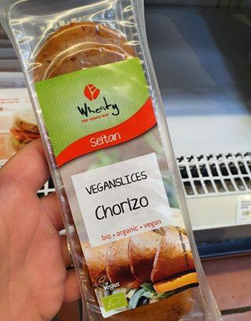 Wheaty Chorizo Slices 80g
