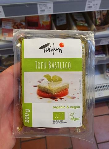 Taifun Tofu Basilico Organic Basil Tofu 200g