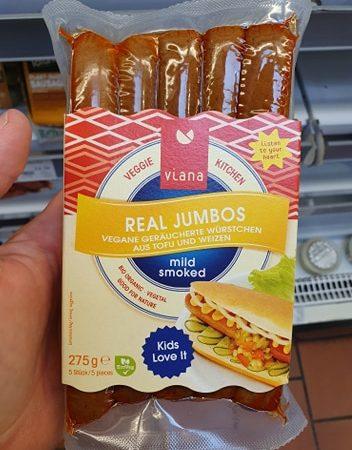 Viana Real Jumbos Mild Smoked Sausages 275g