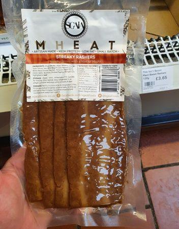 Sgaia Mheat – Streaky Rashers 80g